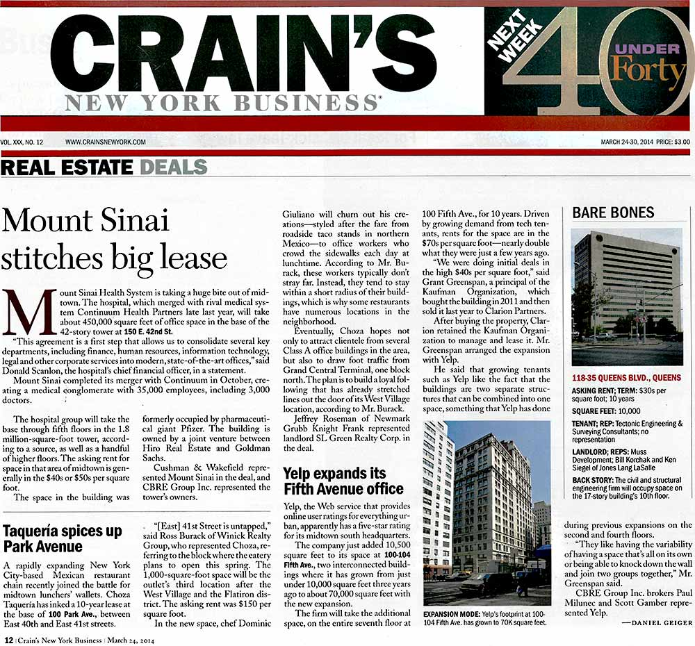 Crain's-New-York-Business,-Yelp-expands-its-Fifth-Avenue-office,-3.26.2014