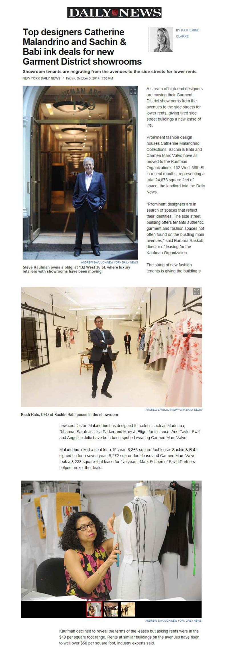 NY-Daily-News-(online)---Top-designers-Catherine-Malandrino-and-Sachin-&-Babi-ink-deals-for-new-Garment-District-showrooms---10.3