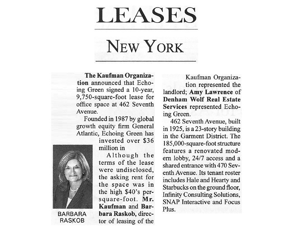 Real-Estate-Weekly---Leases---9.10.14