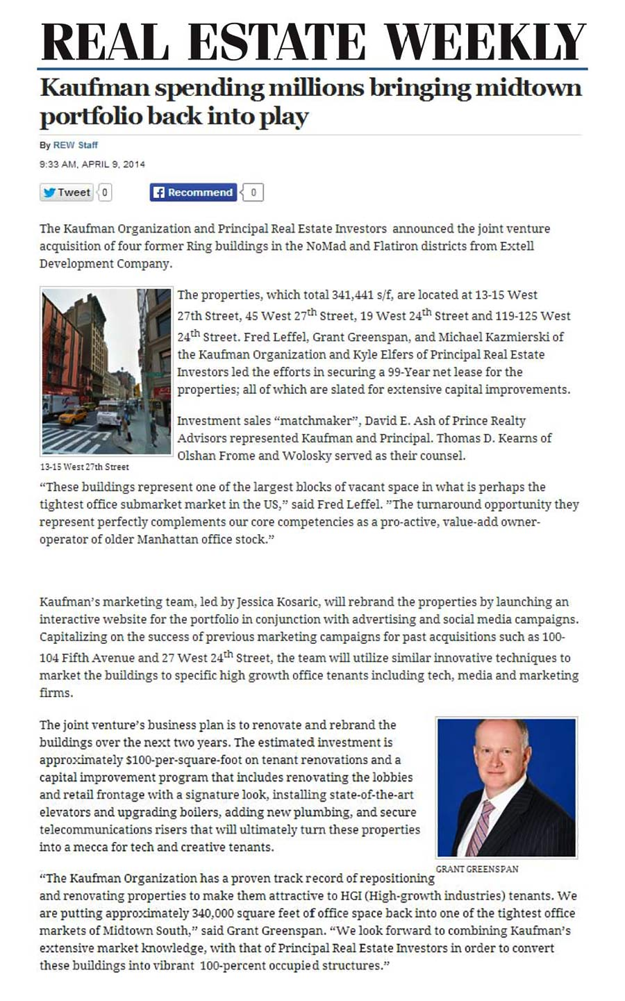 Real-Estate-Weekly-(Online),-Kaufman-spending-millions-bringing-midtown-portfolio-back-into-play,-4.9.2014