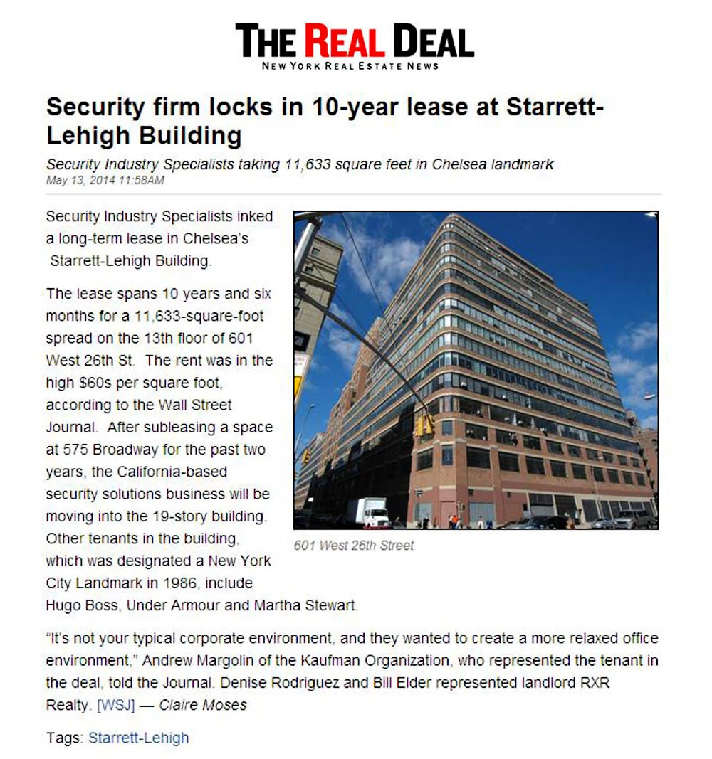 The-Real-Deal---Security-firm-locks-in-10-year-lease-at-Starrett-Lehigh-Building---5.13.14