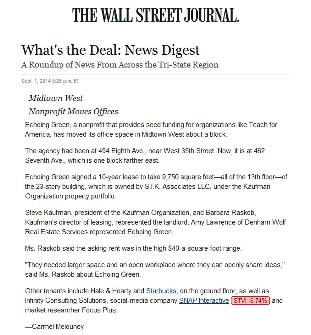 The-Wall-Street-Journal-(online)---What's-the-Deal-News-Digest---9.1.14