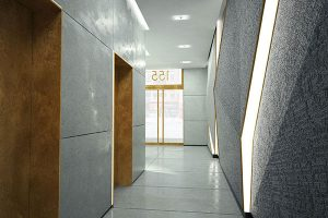 155 west 23rd lobby looking out