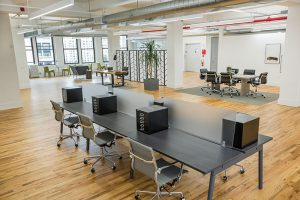 155 West 23 open area with Workstation