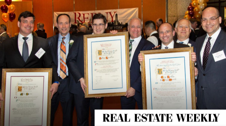 CBRE takes home gold at REBNY's annual deal awards