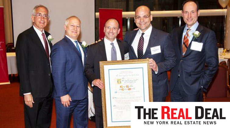 "Leasing brokers on one of the city's ""ugliest"" buildings bring home REBNY's Most Ingenious Deal award"